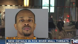 New details on Fox River Mall threats - Video