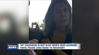 Dana Papaj faces long road to recovery - Video