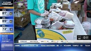 Mobile Food Pantry opens in Pinellas County