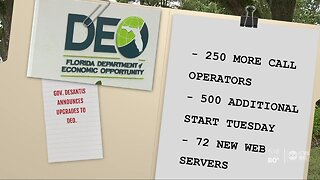 Claims pile up as Florida unemployment website upgraded