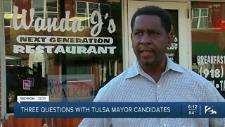 Three questions with Tulsa mayor candidates