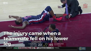 Anfernee Mclemore Gives Positive News After Horrific Leg Injury - Video