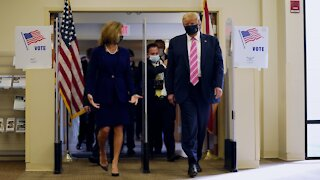 President Trump Casts His Ballot In-Person In Florida