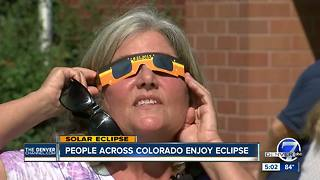 People across Colorado enjoy eclipse - Video