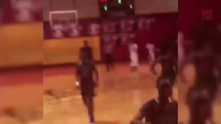 HS Player Breaks Backboard On Vicious Dunk - Video