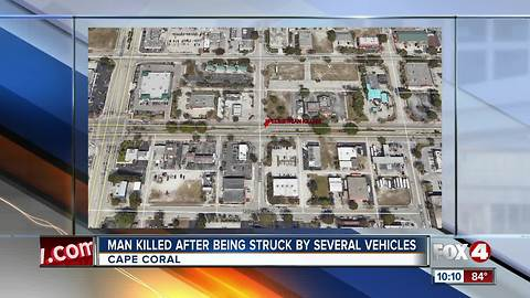 Homeless man killed in early morning traffic crash