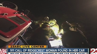 911 CALL: Missing Ridgecrest woman call for help - Video