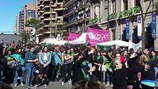 Abortion Legalization Supporters Rally in Cordoba - Video