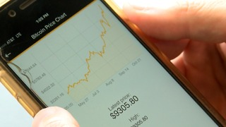 Bitcoin value soars - Video