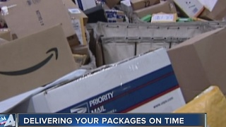 Milwaukee postal workers plan to deliver packages in snow - Video