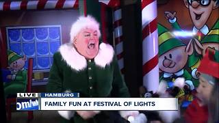 Holiday magic with Kandy Kane at the Festival of Lights