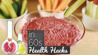 Health Hacks: Beetroot dip for worn out livers - Video