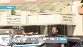 Shooting Incident in New York Bronx Hospital - Video