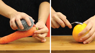 6 helpful hacks to peel food - Video