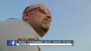 Brothers holding musky tournament to help friend with cancer - Video