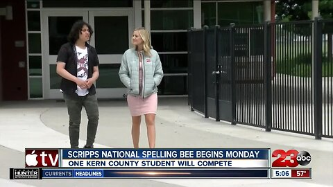 Kern County Spelling Bee champ heads to national competition