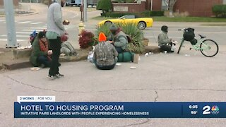 Hotel to Housing: New program hoping to find permanent housing for homeless