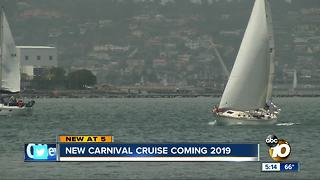 New Carnival Cruise Coming in 2019 - Video