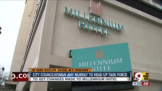 City could form task force in effort to remodel Millennium Hotel