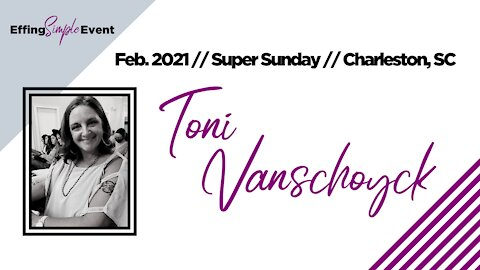 TONI VANSCHOYCK - What is Monat? // Super Sunday February 2021