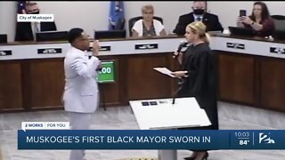 Muskogee officially inducts first Black mayor