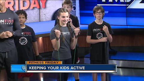 Fitness Friday: Keeping kids active