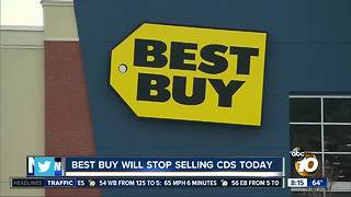 Best Buy will stop selling CDs today - Video