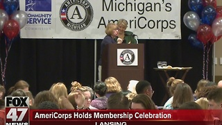AmeriCorps holds membership celebration - Video