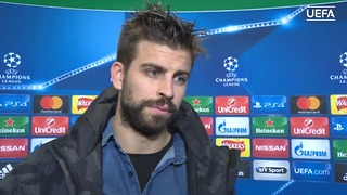 Video: Pique talks about Messi in his interview after Celtic game - Video