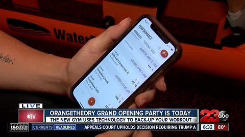 Orangetheory backed up by technology