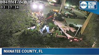 Manatee County Confederate monument cracks in half during removal overnight
