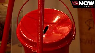"""Salvation Army selling new """"season pass pins"""" for their annual Red Kettle campaign"""