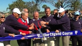Legend course reopened after renovation - Video