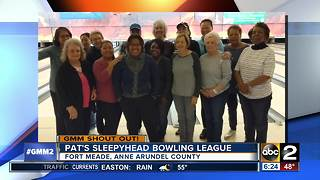 Good morning from Pat's Sleepyhead Bowling League - Video