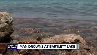 MCSO: Man recovered after drowning at Bartlett Lake - Video