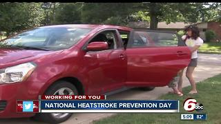Kids Dying In Hot Cars-- National Heatstroke Prevention Day - Video