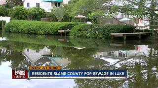 Residents on Spring Lake concerned about feces in the water
