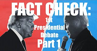 #DEBATE2020 FACT CHECKING SPECIAL PART 1