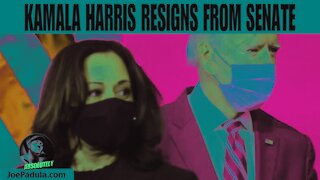 Kamala Harris Resigns from Senate and the Best VP Ever was...