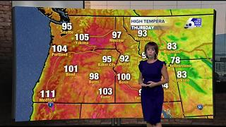 Triple digit highs continue for a couple more days - Video