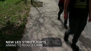 Tampa neighborhoods getting new LED streetlights | Digital Short - Video