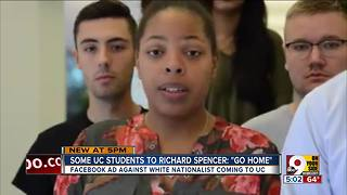 University of Cincinnati students, alumni tell Richard Spencer he's not wanted - Video