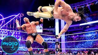 Top 10 Seth Rollins WWE Matches - Video