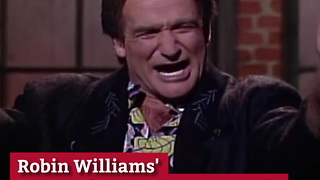 Robin Williams' Best Impressions Will Make You Laugh and Cry Together