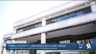 Face masks now required at Pima County libraries