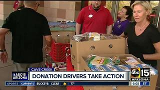 Donation drivers wanted in Cave Creek - Video