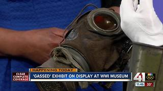 'Gassed' exhibit on display at WWI Museum and Memorial - Video