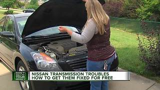 Complaints continue about some Nissan transmissions - Video