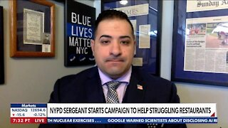 Joe Imperatrice, Founder, Blue Lives Matter Foundation - NYPD SERGEANT STARTS CAMPAIGN TO HELP STRUGGLING RESTAURANTS