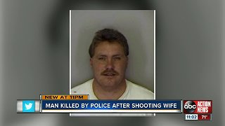 Man dead, wife in critical condition after shooting, SWAT standoff